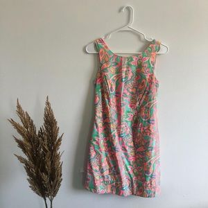 Lilly Pulitzer Colorful Dress With Tie Sides